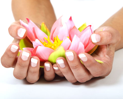 Schöne Hände & Fingernägel Frau
